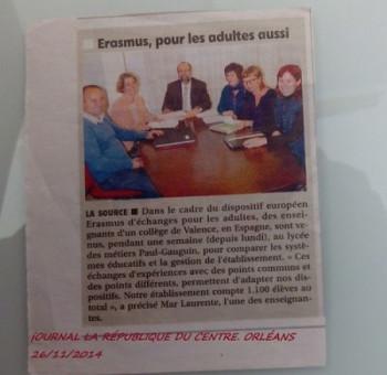 Jobshadowing en Francia