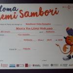 Marta Yun López Hélamo guanya el  premi Sambori