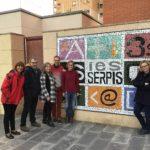 Docents de l'Uruguai visiten el nostre institut